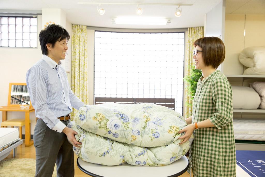 羽毛布団リフォーム 名古屋