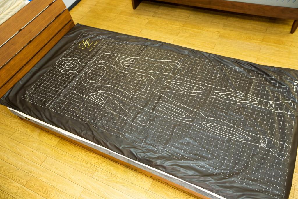 体圧測定 ベッド