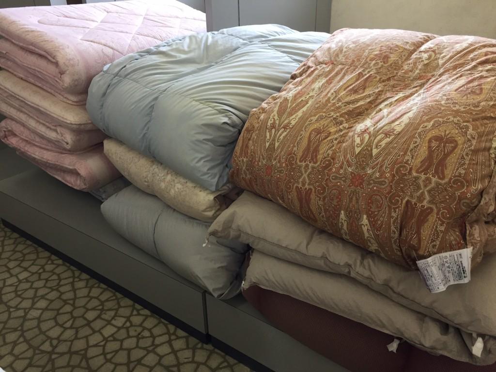 羽毛布団 丸洗い 安城