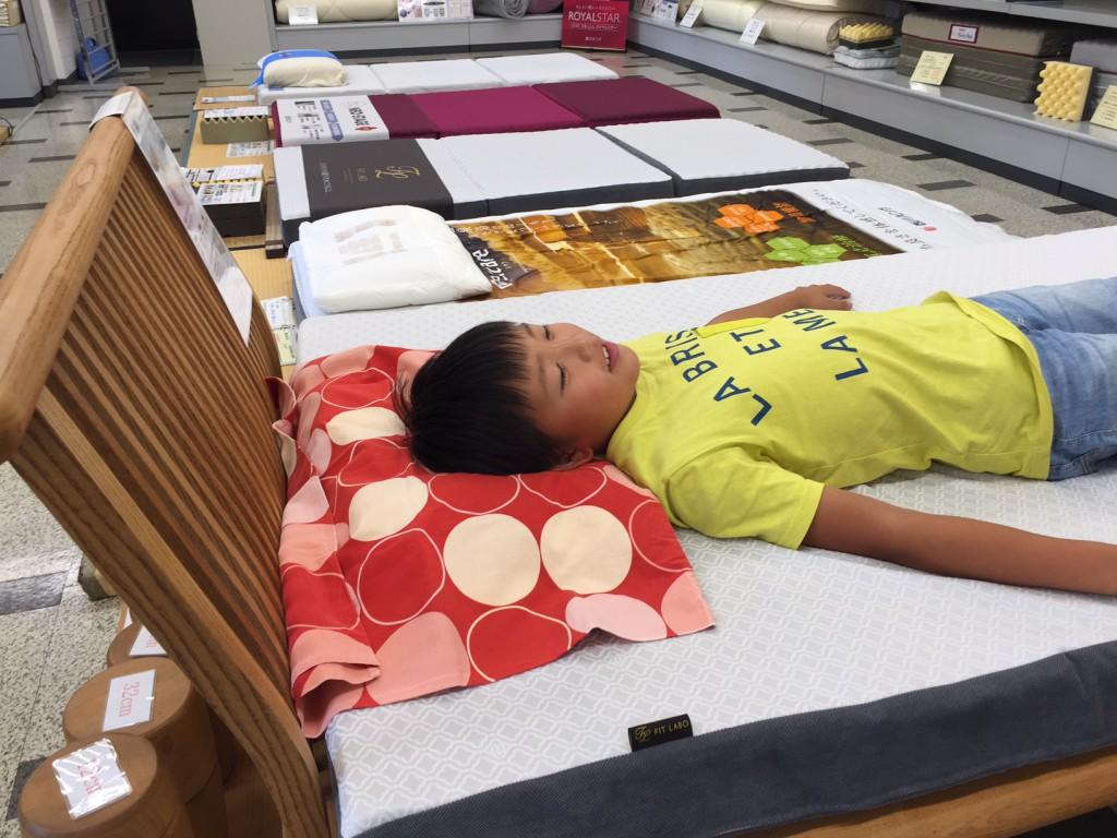 ちびっこ枕手作り体験教室