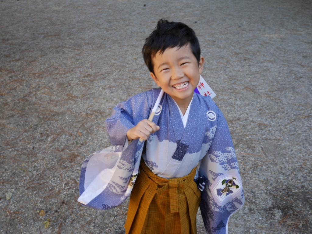 七五三 伊文神社