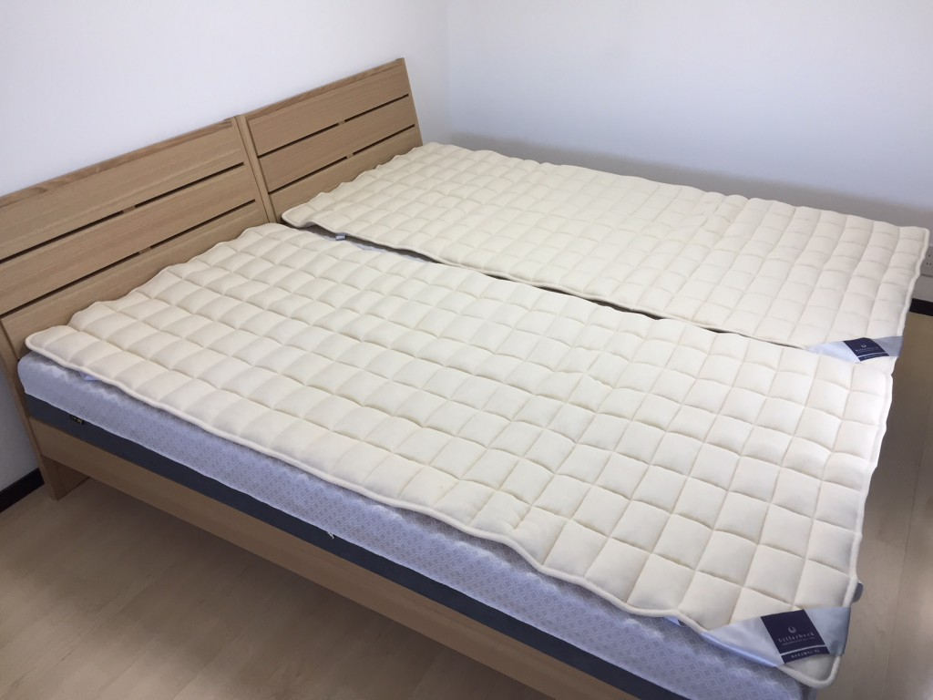 ビラベック羊毛ベッドパッド