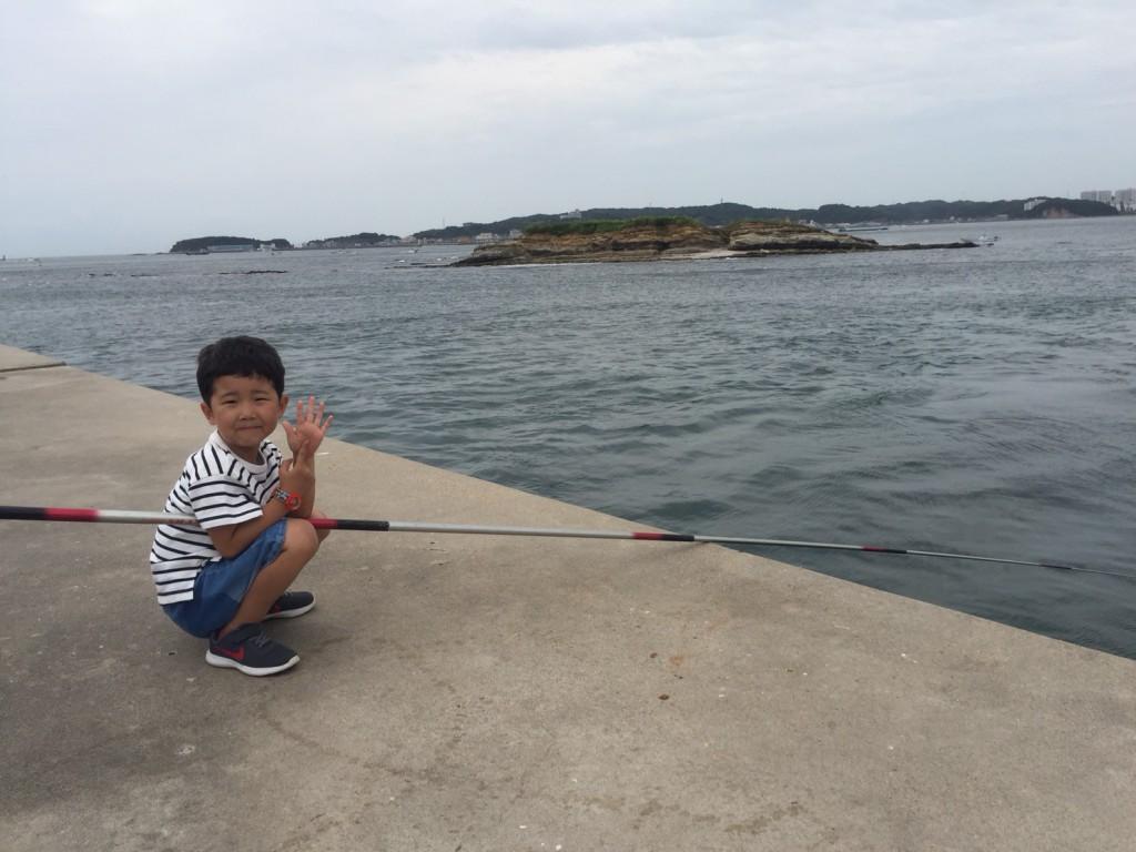 日間賀島 海釣り