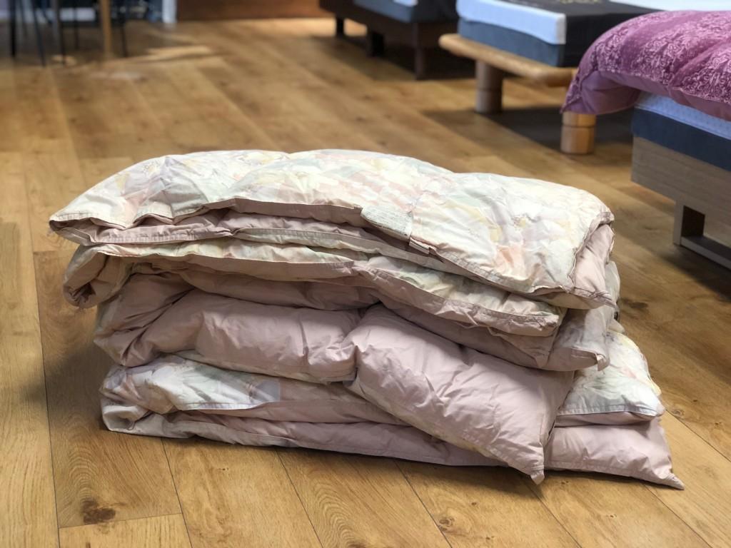 ふとん丸洗い・羽毛布団リフォーム