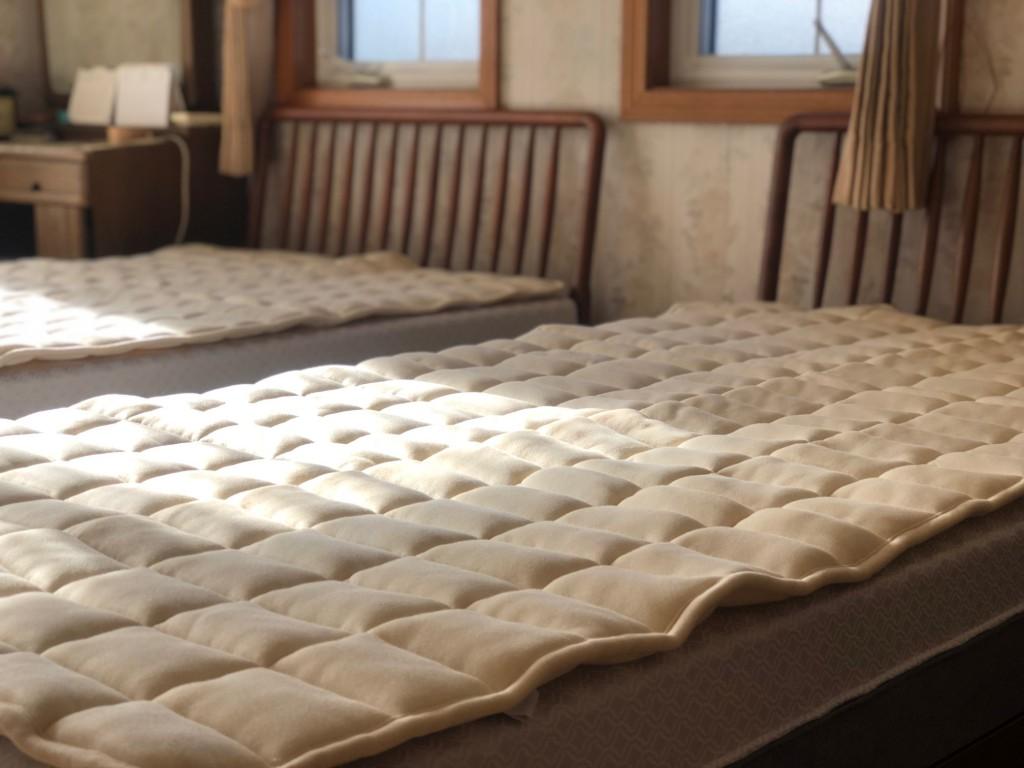 ビラベック羊毛ベッドパッド 名古屋 日進